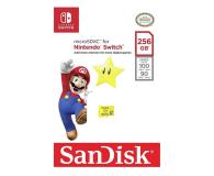 SanDisk 256GB microSDXC 100MB/s A1 V30 Nintendo Switch - 581874 - zdjęcie 3