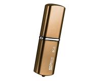 Silicon Power 8GB LuxMini 720 USB 2.0 brązowy - 607670 - zdjęcie 1