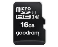 GOODRAM 16GB microSDHC 100MB/s C10 UHS-I U10 - 601408 - zdjęcie 1