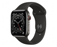 Apple Watch 6 44/Graphite Steel/Black Sport LTE - 601950 - zdjęcie 1