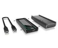 ICY BOX M.2 - USB 3.2. Gen 2 (do 20 Gbps, z chłodzeniem) - 601742 - zdjęcie 5