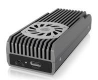 ICY BOX M.2 - USB 3.2. Gen 2 (do 20 Gbps, z chłodzeniem) - 601742 - zdjęcie 1