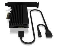 ICY BOX Kontroler PCI-E - M.2 NVMe - ARGB - 601777 - zdjęcie 4