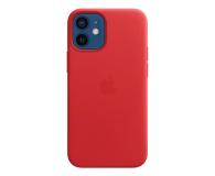 Apple Skórzane etui iPhone 12 mini (PRODUCT)RED - 604807 - zdjęcie 1