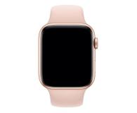 Apple Pasek Sportowy do Apple Watch piaskowy róż - 488006 - zdjęcie 1