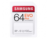 Samsung 64GB SDXC EVO Plus 100MB/s - 617905 - zdjęcie 1