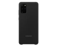 Samsung Silicone Cover do Galaxy S20+ Black  - 544161 - zdjęcie 1