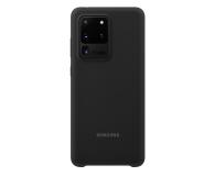 Samsung Silicone Cover do Galaxy S20 Ultra Black  - 544184 - zdjęcie 1