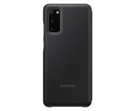 Samsung LED View Cover do Galaxy S20 Black  - 544118 - zdjęcie 2