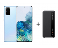 Samsung Galaxy S20+ G985F Dual SIM Blue + Clear View Cover - 544329 - zdjęcie 1