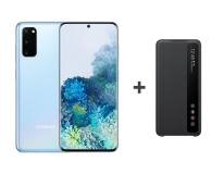 Samsung Galaxy S20 G980F Dual SIM Blue + Clear View Cover - 544321 - zdjęcie 1