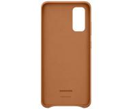Samsung Leather Cover do Galaxy S20 Brown  - 544140 - zdjęcie 3