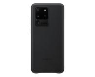 Samsung Leather Cover do Galaxy S20 Ultra Black  - 544189 - zdjęcie 1