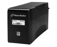 Power Walker LINE-INTERACTIVE (850VA/480W, 2x Schuko, LCD, AVR) - 544098 - zdjęcie 1