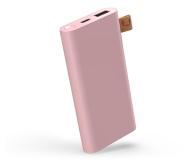 Fresh N Rebel Power Bank 6000 mAh (USB-C, Dusty Pink) - 545690 - zdjęcie 1