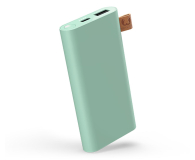 Fresh N Rebel Power Bank 6000 mAh (USB-C, Misty Mint) - 545691 - zdjęcie 1