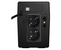 Power Walker LINE-INTERACTIVE (850VA/480W, 2x Schuko, LCD, AVR) - 544098 - zdjęcie 4
