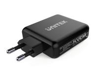 Unitek Ładowarka sieciowa 2x USB 2,4A + QC 3.0 60W PD - 538704 - zdjęcie 2