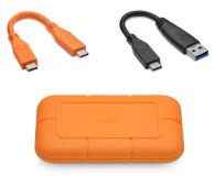 LaCie Rugged SSD 1TB USB 3.2 Pomarańczowy - 544765 - zdjęcie 7