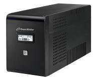 Power Walker LINE-INTERACTIVE (2000VA/1200W, PL/IEC, LCD, AVR) - 176815 - zdjęcie 1
