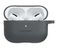 Spigen Apple AirPods Pro Silicone Fit grafitowy  - 541356 - zdjęcie 3