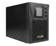 Green Cell UPS (1000VA/900W, 2x Schuko, LCD) - 546090 - zdjęcie 1