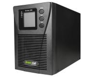 Green Cell UPS (1000VA/900W, 2x Schuko, LCD) - 546090 - zdjęcie 3