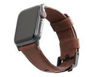 UAG Pasek Skórzany do Apple Watch brązowy - 540794 - zdjęcie 1