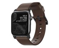 Nomad Pasek Skórzany do Apple Watch brązowo-czarny - 540745 - zdjęcie 1