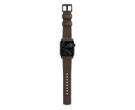 Nomad Pasek Skórzany do Apple Watch brązowo-czarny - 540745 - zdjęcie 4