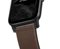 Nomad Pasek Skórzany do Apple Watch brązowo-czarny - 540749 - zdjęcie 5