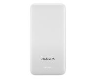 ADATA Power Bank T10000 10000mAh (2A, biały) - 546579 - zdjęcie 1