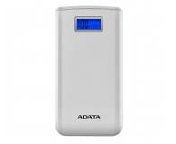 ADATA Power Bank S20000D 20000mAh (2.1A, biały) - 546576 - zdjęcie 1