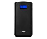 ADATA Power Bank S20000D 20000mAh (2.1A, czarny) - 546577 - zdjęcie 1