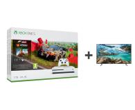 Microsoft Xbox One S + Forza Horizon 4 + LEGO DLC + TV - 542935 - zdjęcie 1