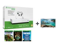 Microsoft Xbox One S All-Digital Edition + TV - 542941 - zdjęcie 1