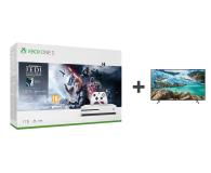 Microsoft Xbox One S + STAR WARS: Upadły Zakon + TV - 542937 - zdjęcie 1