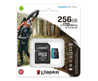 Kingston 256GB Canvas Go! Plus 170MB/90MB (odczyt/zapis) - 550120 - zdjęcie 3