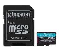 Kingston 256GB Canvas Go! Plus 170MB/90MB (odczyt/zapis) - 550120 - zdjęcie 1