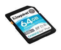 Kingston 64GB Canvas Go! Plus 170MB/70MB (odczyt/zapis) - 550469 - zdjęcie 2