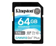 Kingston 64GB Canvas Go! Plus 170MB/70MB (odczyt/zapis) - 550469 - zdjęcie 1