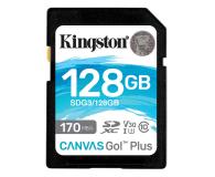 Kingston 128GB Canvas Go! Plus 170MB/90MB (odczyt/zapis) - 550471 - zdjęcie 1