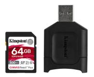 Kingston 64GB Canvas React Plus 300MB/260MB/s - 550462 - zdjęcie 1