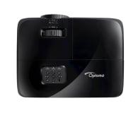 Optoma HD28e + Ekran ręczny 92' 203x114 16:9 Biały Matowy - 572341 - zdjęcie 5
