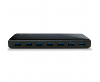TP-Link UH720 USB 3.0 (7 portów +2x2,4A aktywny, zasilacz) - 230943 - zdjęcie 2