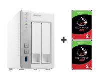 QNAP TS-231P 4TB (2xHDD, 2x1.7GHz, 1GB, 3xUSB, 2xLAN) - 421671 - zdjęcie 1