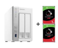QNAP TS-231P 2TB (2xHDD, 2x1.7GHz, 1GB, 3xUSB, 2xLAN) - 421658 - zdjęcie 1