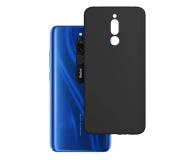 3mk Matt Case do Xiaomi Redmi 8 czarny  - 551005 - zdjęcie 1