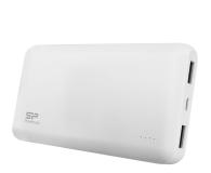 Silicon Power Power Bank 5000mAh (2x USB 2.1A, biały) - 551960 - zdjęcie 1