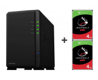 Synology DS218play 8TB (2xHDD, 4x1.4GHz, 1GB, 2xUSB, 1xLAN) - 463384 - zdjęcie 1